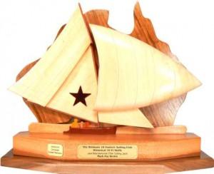10ft Vintage Skiff Perpetual Sailing Trophy