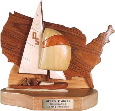 oday daysailer regatta trophy