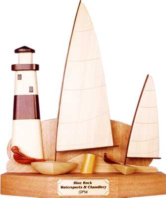 lighthouse design trophy