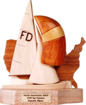 flying dutchman sailboat class trophy