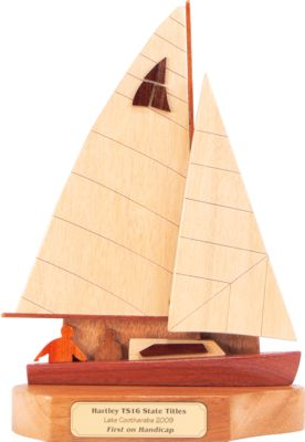hartley front sailing trophy