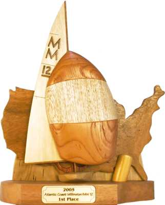 mini 12 sailboat trophy