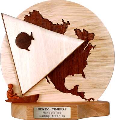 north america trophy design