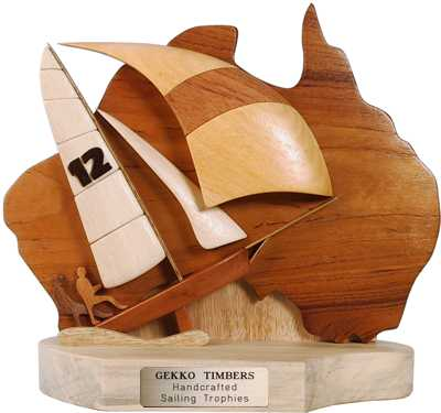 map design australia trophy