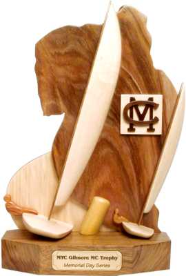 Lake Max trophy design