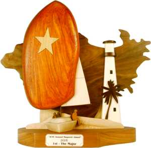 magnetic island north queensland trophy design