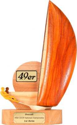 assymetric dinghy trophy design