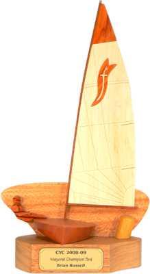 sabre front sailing trophies