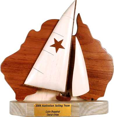 star sailboat trophies