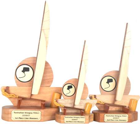stingrays logo trophy