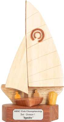 dacron sailboat design trophy