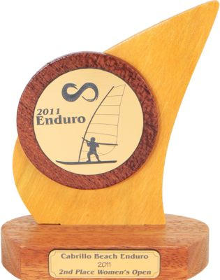 windsurfer_trophies_cabrillo_beach_enduro_budget_sailing_trophy