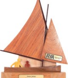 old gaffer sailing trophy