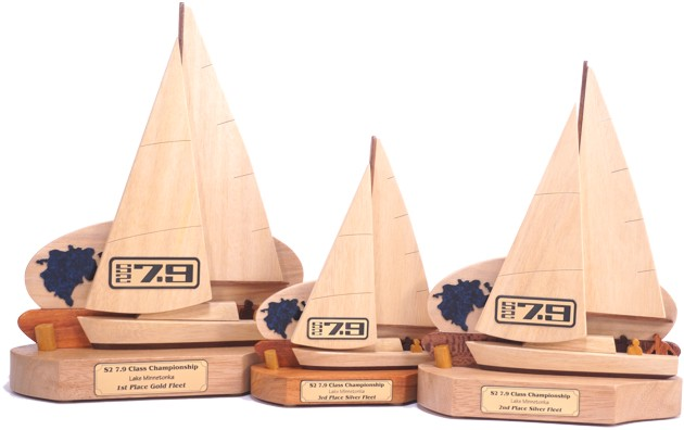 S2 7,9 Yacht Sailing Trophies