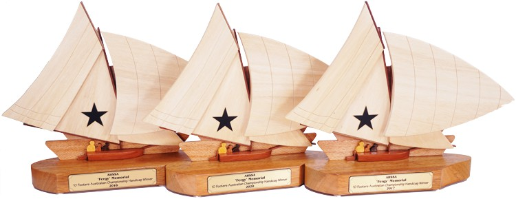 10ft Vintage Skiff Keeper Sailing Trophies
