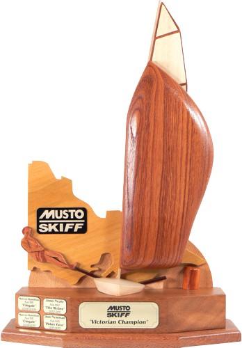 Musto Skiff Perpetual Sailing Trophy Victoria
