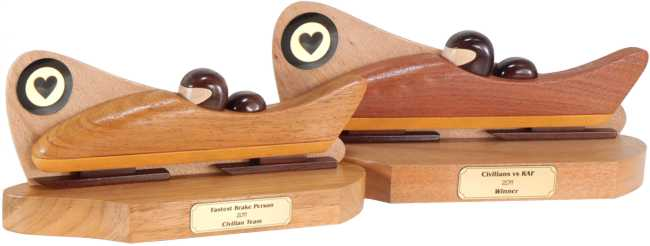 Two Man Bobsleigh Trophies