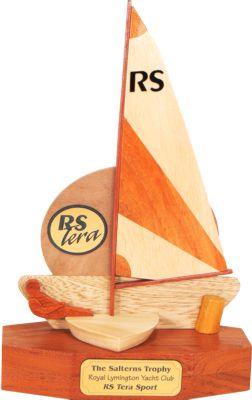 RS Tera Sport perpetual sailing trophy