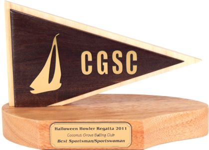 Coconut Grove Burgee Sailing Trophy