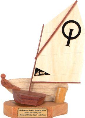 Coconut Grove Optimist Sailing Trophy