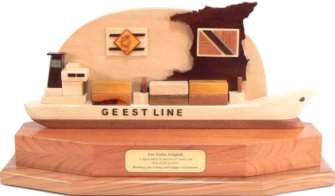 Geest Line Container Ship Retirement Present