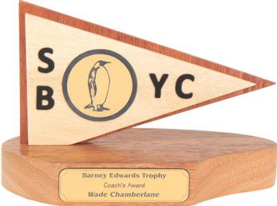 Safety Bay Yacht Club Penguin Burgee Trophy