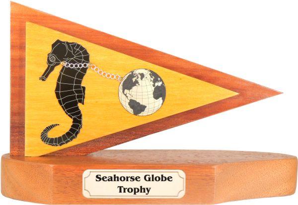 Seahorse Globe Burgee Sailing Trophy