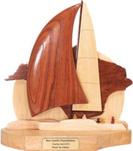 Charity Sail Yacht Sailing Trophies Isle of Wight