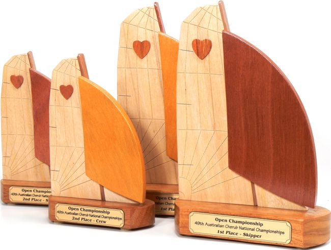 Cherub Sailing Trophies