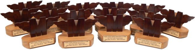Manly Junior Class Logo Sailing Trophies