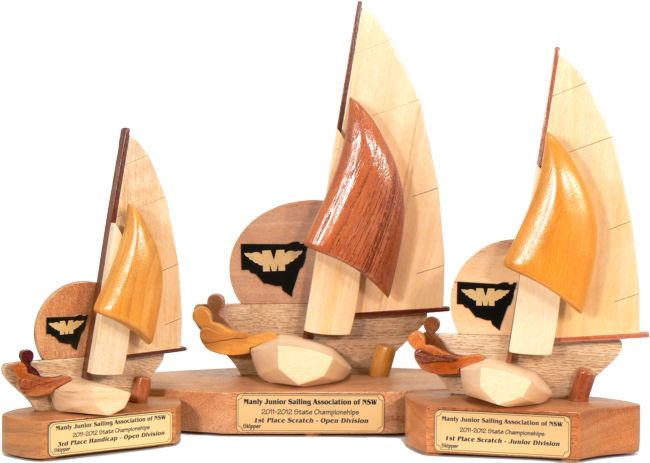 Manly Junior Sailing Trophies