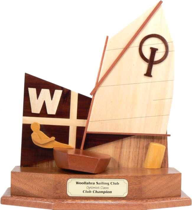 Optimist Junior Perpetual Sailing Trophy