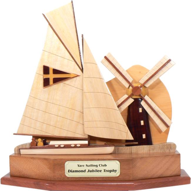 River Cruiser Class Windmill Perpetual Sailing Trophy