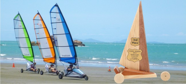Blokart sailing trophies