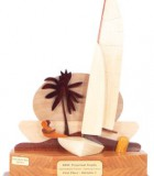 tropical dinghy perpetual sailing trophy
