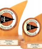 club logo budget sailing trophy